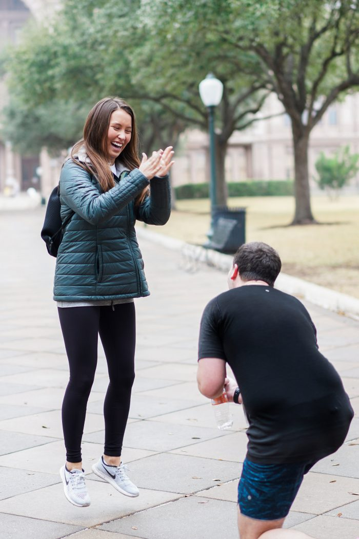 Marriage Proposal Ideas in Texas State Capitol