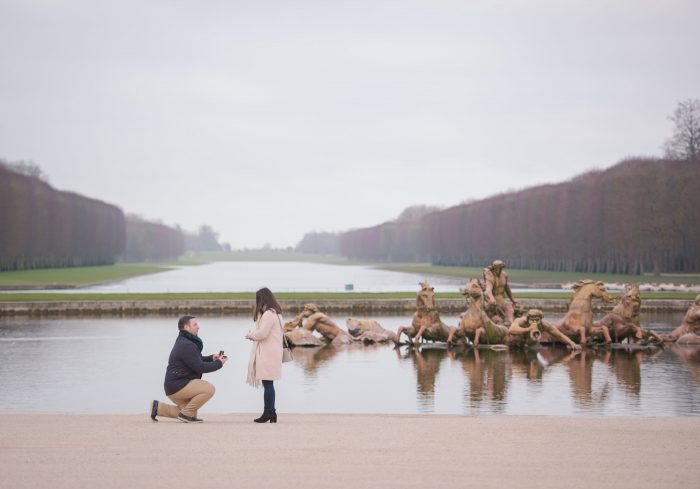 Where to Propose in Palace of Versailles, France
