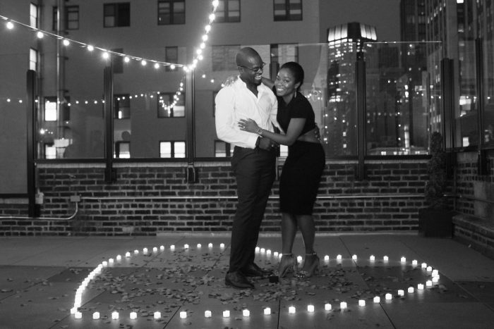 Engagement Proposal Ideas in Rooftop in New York
