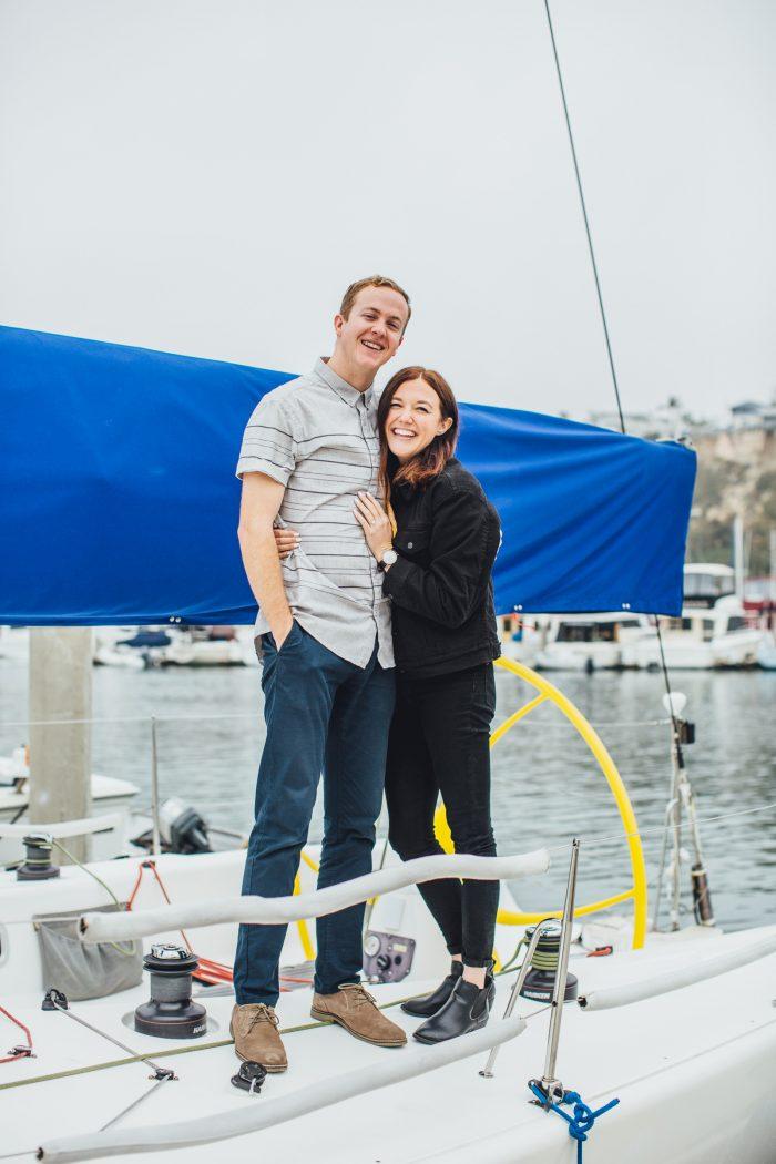 Michelle's Proposal in Dana Point Harbor