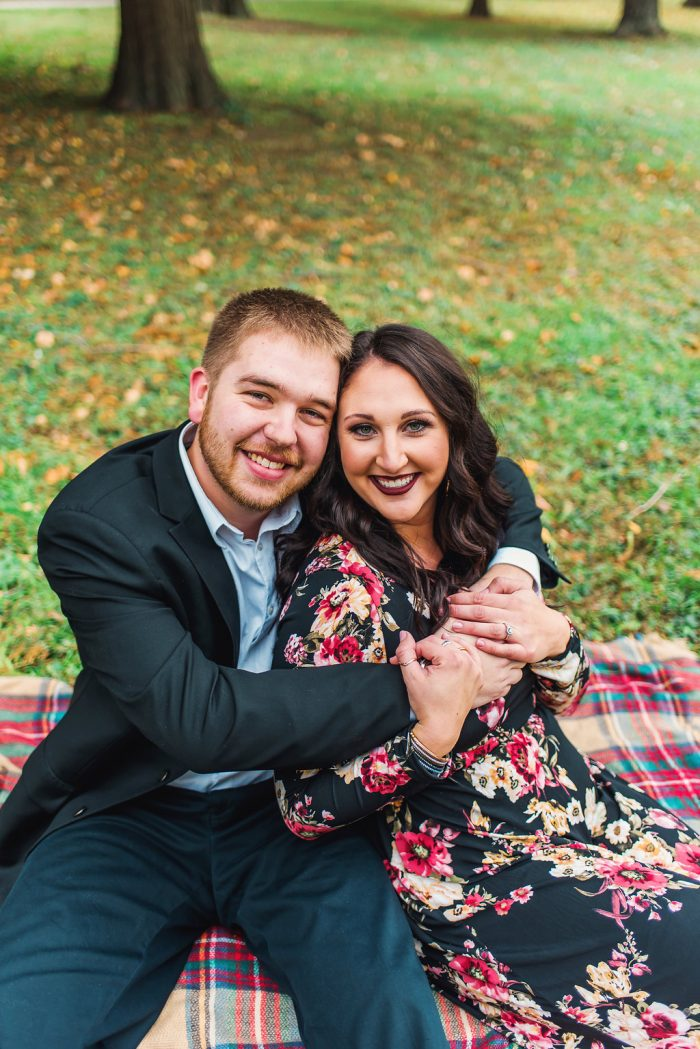 Engagement Proposal Ideas in At the Bride's parent's home in Saint Louis, MO