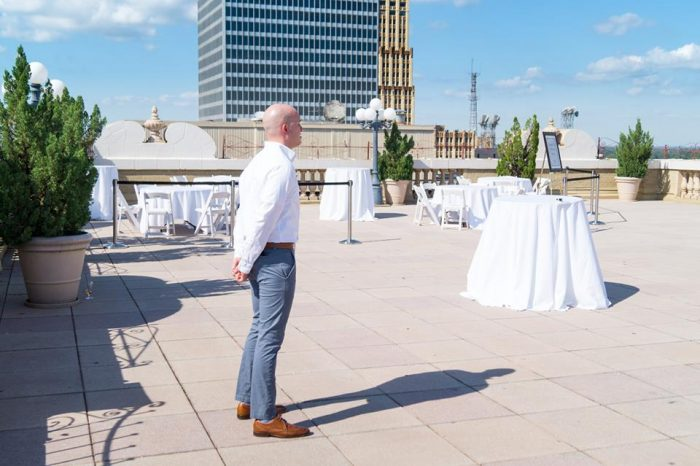 Where to Propose in Peabody Hotel Rooftop in Memphis, TN