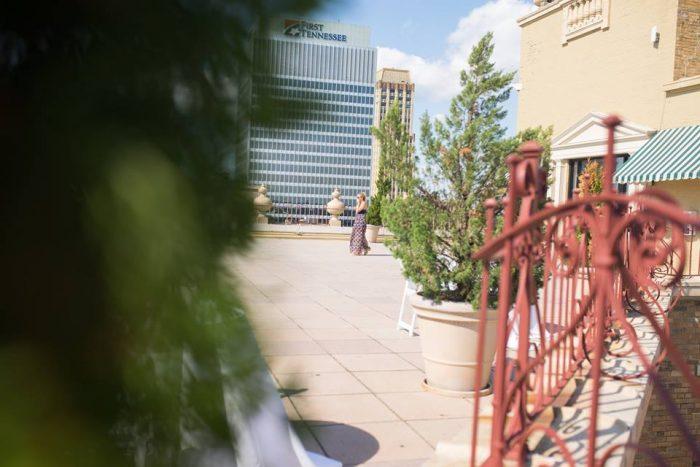 Proposal Ideas Peabody Hotel Rooftop in Memphis, TN