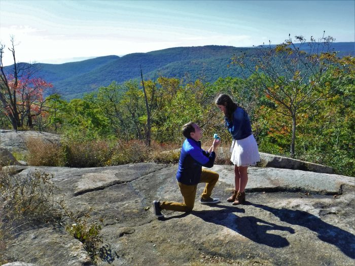 Shannon and Tyler's Engagement in Bear Mountain, New York