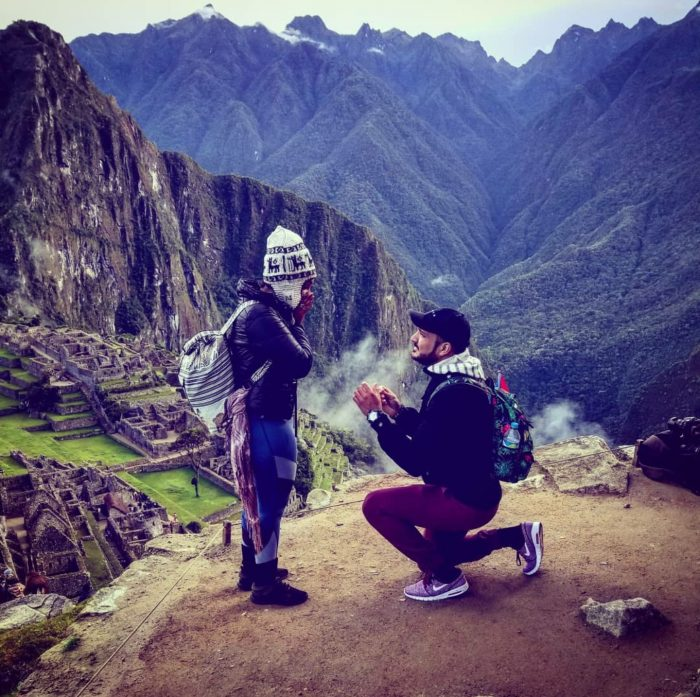 Where to Propose in Machu Picchu Perú