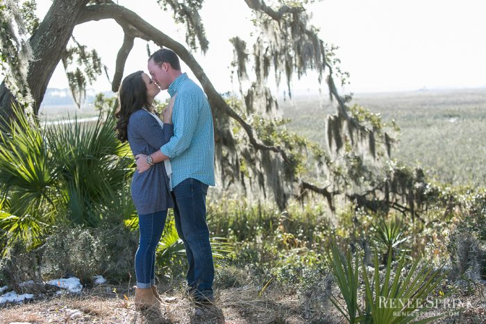 Stephanie and Greg's Engagement in Bluffton, South Carolina