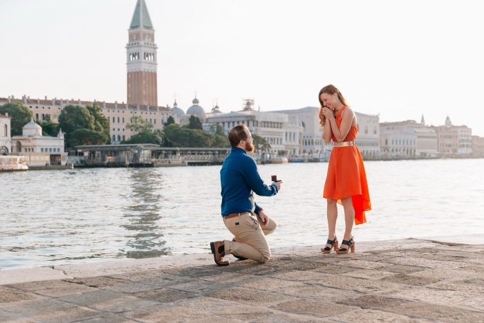 Trevor and Emelie's Engagement in Venice, Italy