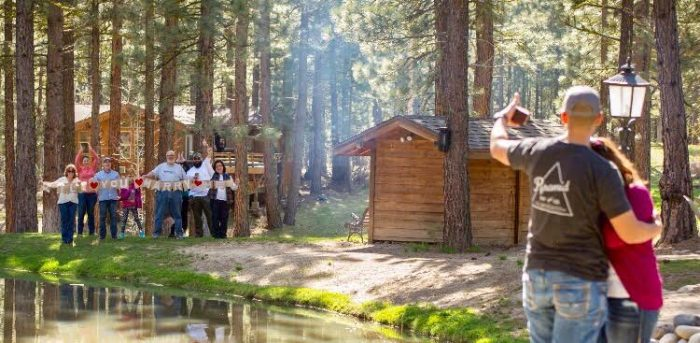 Wedding Proposal Ideas in Chalet View Lodge