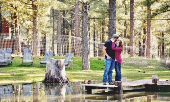 Shannon's Proposal in Chalet View Lodge