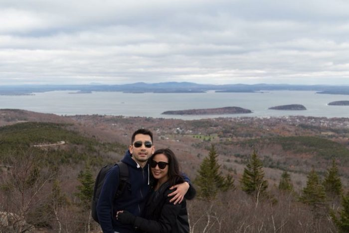 Where to Propose in Cadillac Mountain, Acadia National Park, Maine