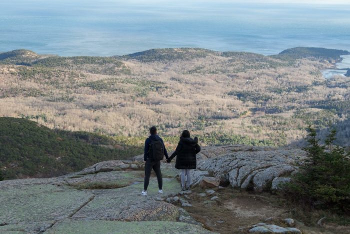 Marianne Faith and Victor Paolo's Engagement in Cadillac Mountain, Acadia National Park, Maine
