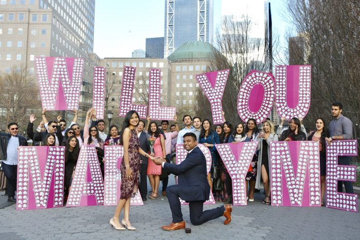 Wedding Proposal Ideas in Battery Park, NYC