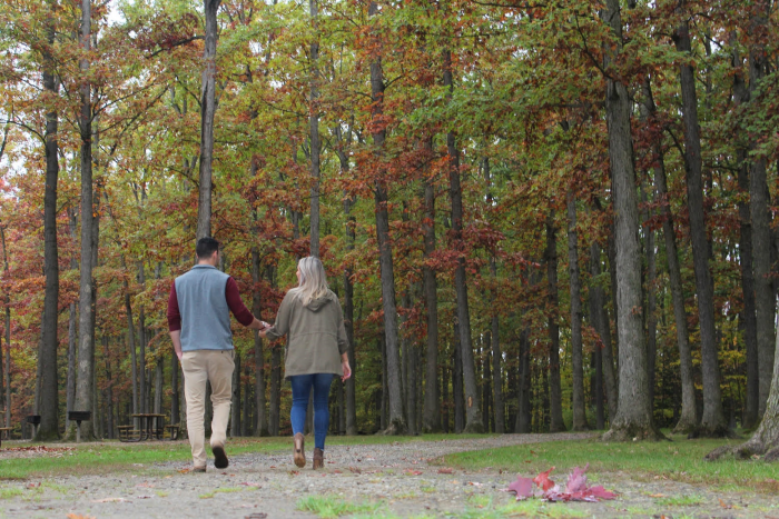 Where to Propose in Stepuk Tree Farm - Canfield, OH