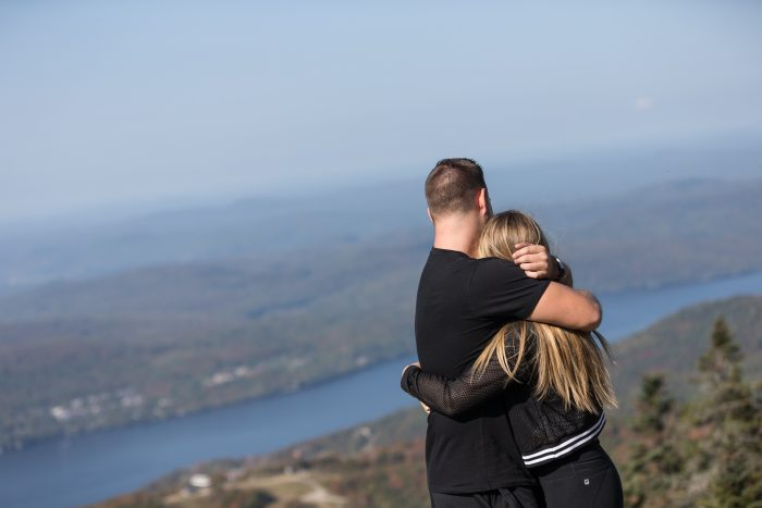 Wedding Proposal Ideas in Mont Tremblant, Quebec, Canada