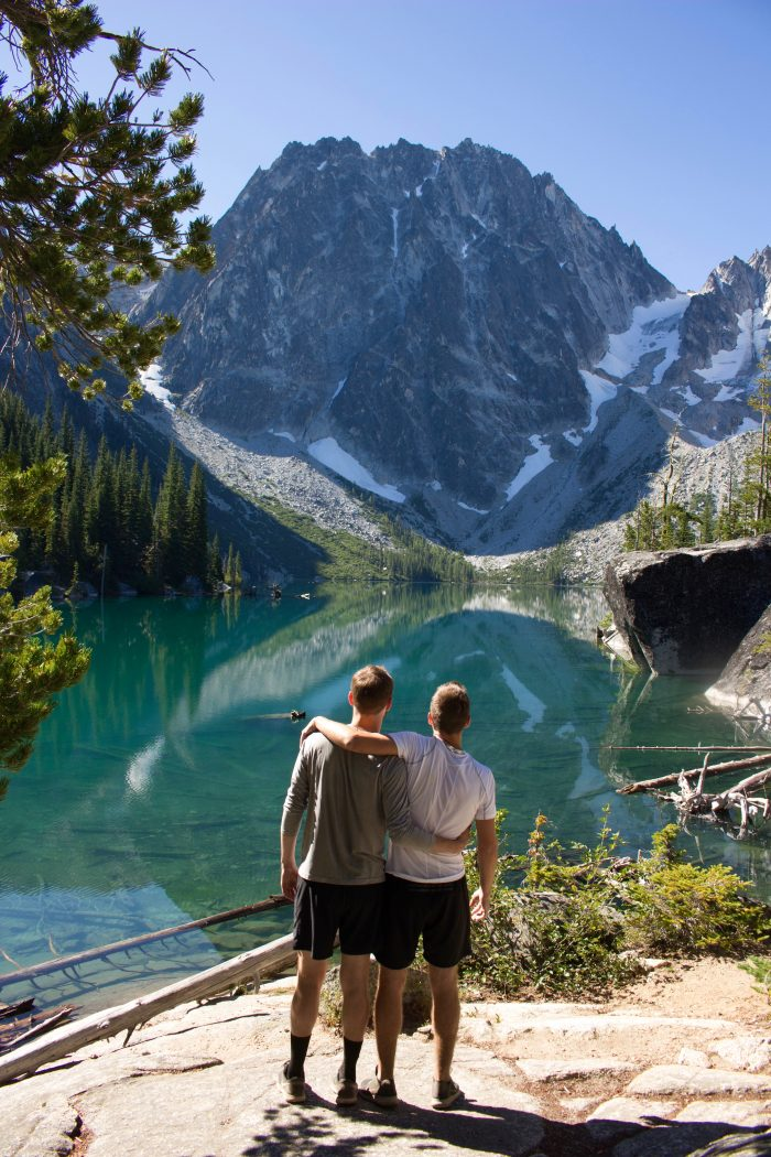 Proposal Ideas Lake Colchuck, Seattle