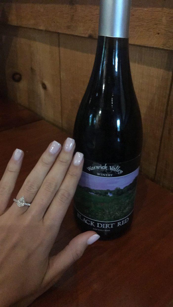 Wedding Proposal Ideas in Warwick Valley Winery