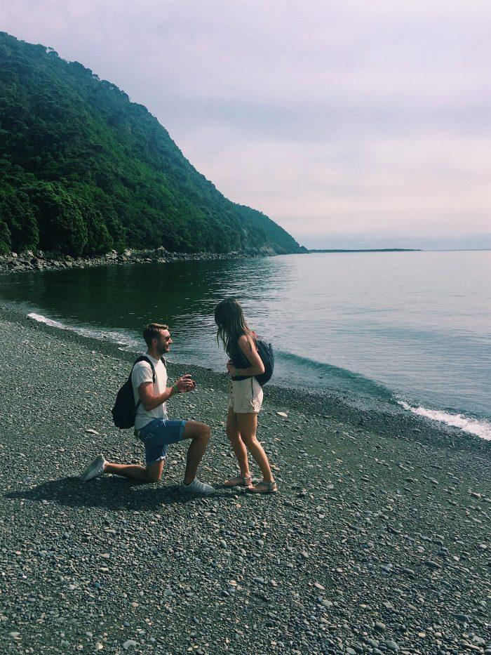 Engagement Proposal Ideas in Kapiti Island, New Zealand