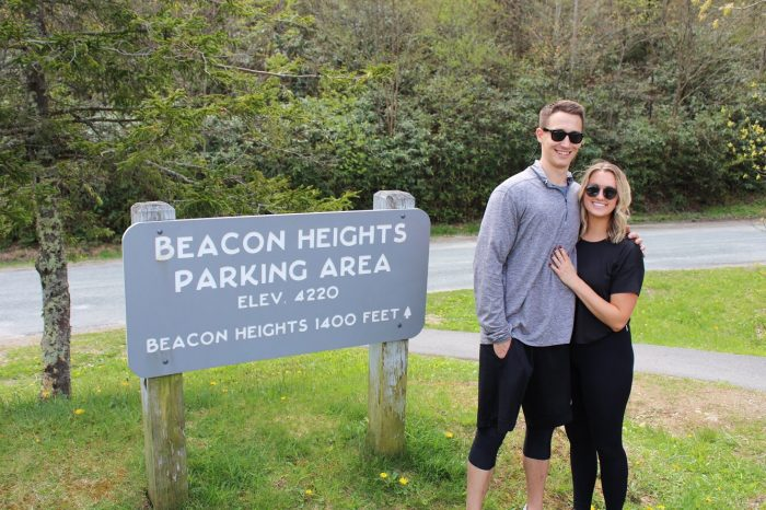 Wedding Proposal Ideas in On top of a mountain in Boone, North Carolina