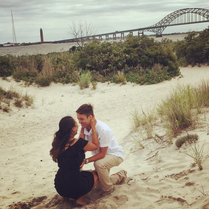 Marriage Proposal Ideas in Captree State Park