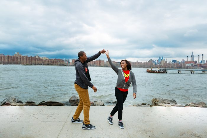 Where to Propose in 131 Vernon in Bedford Stuyvesant, Brooklyn. The place we first met.