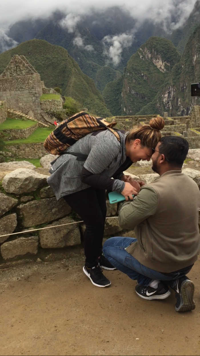Lesley and Ziaul's Engagement in Machu Picchu