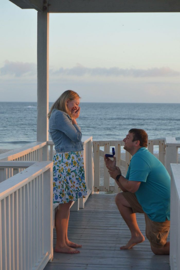 Marriage Proposal Ideas in Oak Island Beach