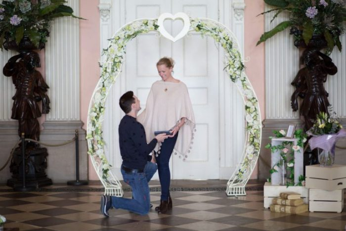 Wedding Proposal Ideas in Ragley Hall