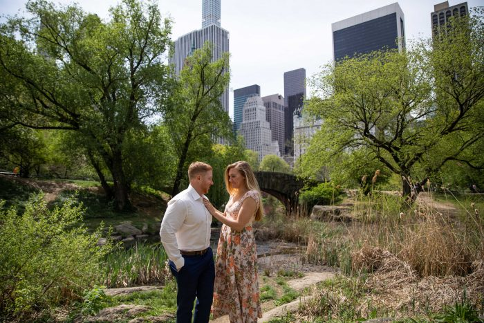 Lindsey and Anthony's Engagement in Central Park, New York City
