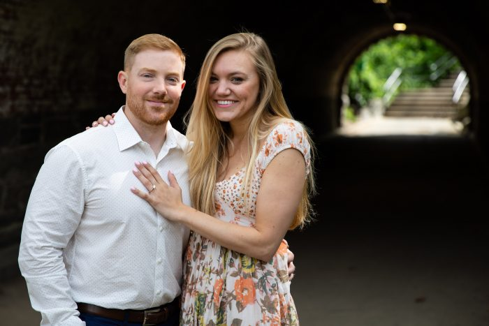 Lindsey's Proposal in Central Park, New York City