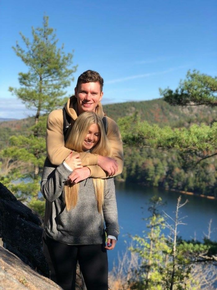 Engagement Proposal Ideas in Acadia National Park in Bar Harbor, Maine