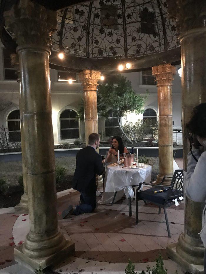 Marriage Proposal Ideas in The Elian Resort San Antonio TX