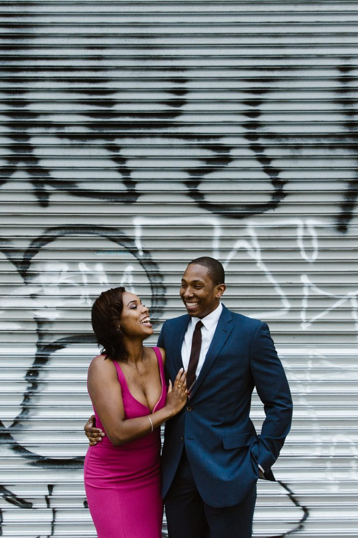 Marriage Proposal Ideas in 131 Vernon in Bedford Stuyvesant, Brooklyn. The place we first met.