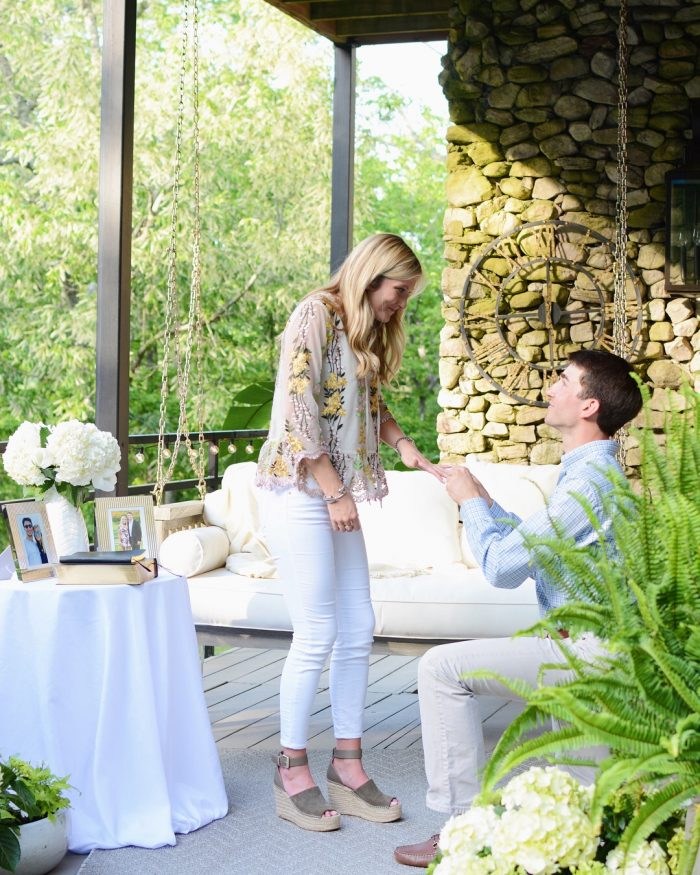 Where to Propose in With each letter I received there was a new surprise destination