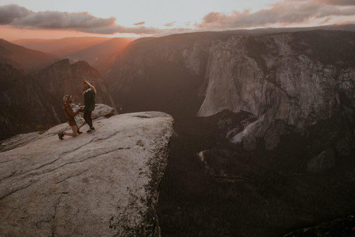 Marriage Proposal Ideas in Yosemite