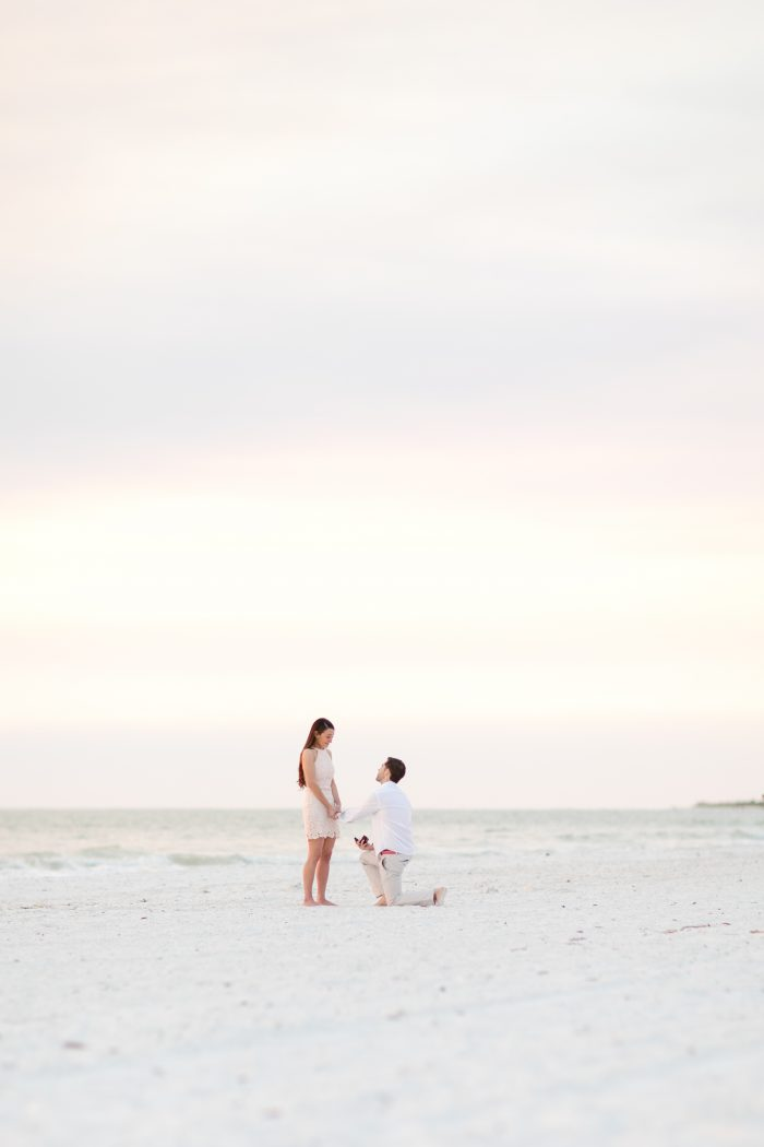 Becca and James's Engagement in Marco Island, Florida
