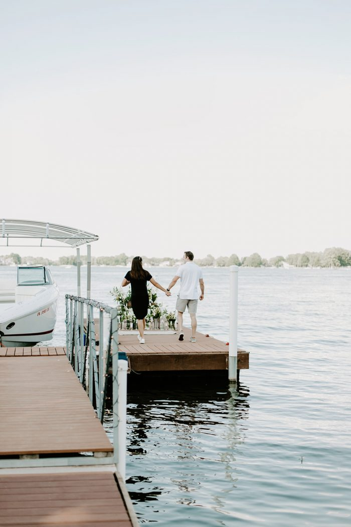 Where to Propose in Morse Reservoir in Noblesville, Indiana
