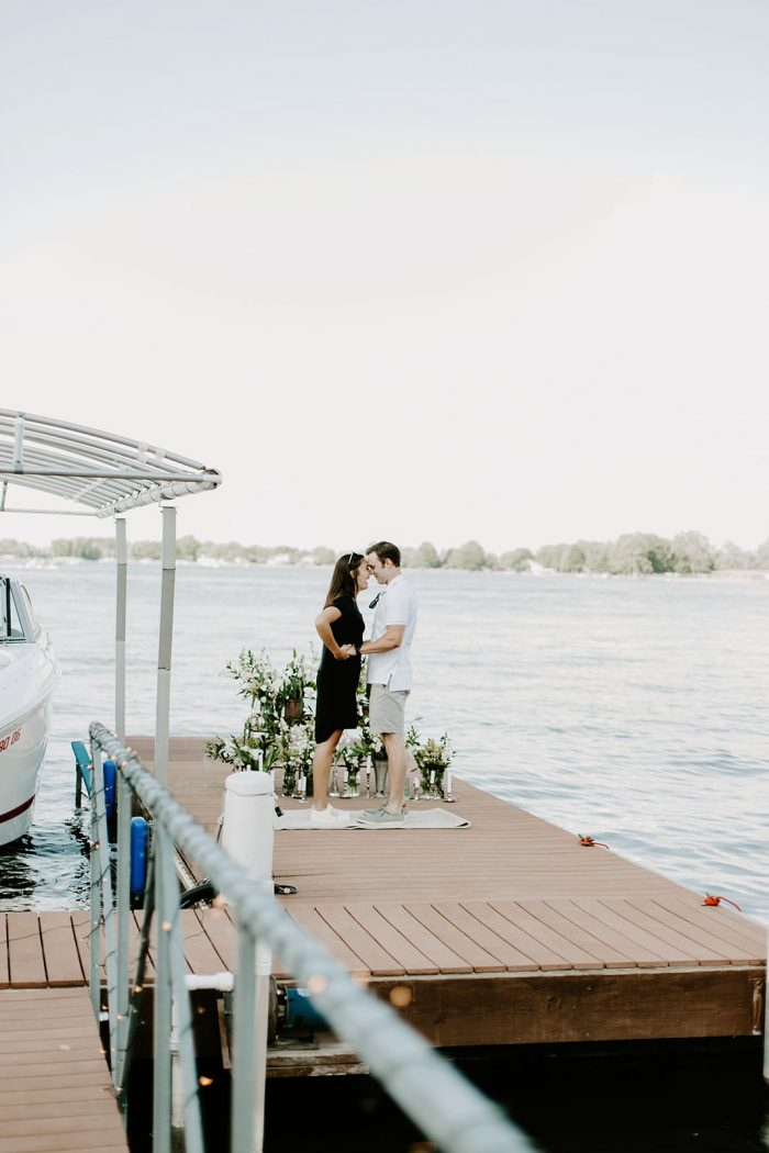 Wedding Proposal Ideas in Morse Reservoir in Noblesville, Indiana
