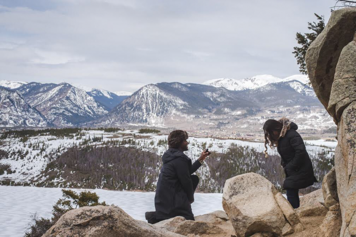 Wedding Proposal Ideas in Breckenridge Colorado