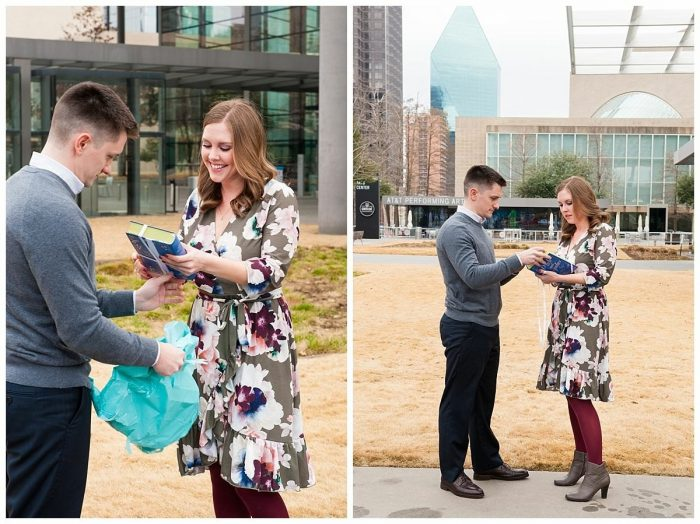 Monica's Proposal in Winspear Opera House in Dallas