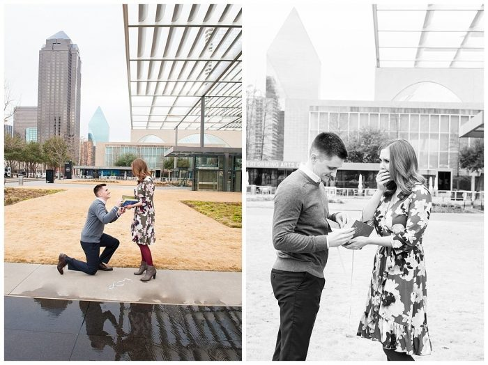 Marriage Proposal Ideas in Winspear Opera House in Dallas