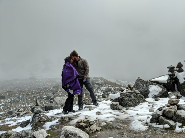 Engagement Proposal Ideas in Salkantay pass peru
