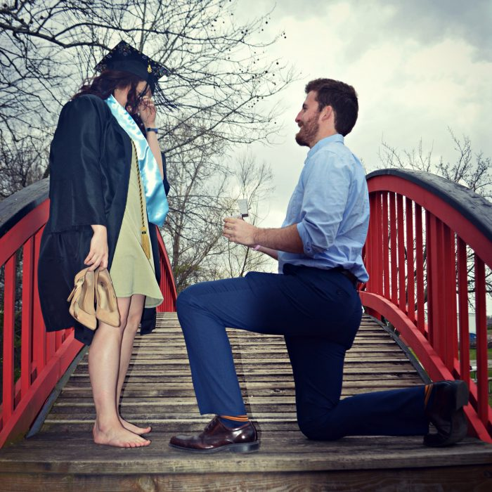 Proposal Ideas On the bridge at the biology pond at MSSU
