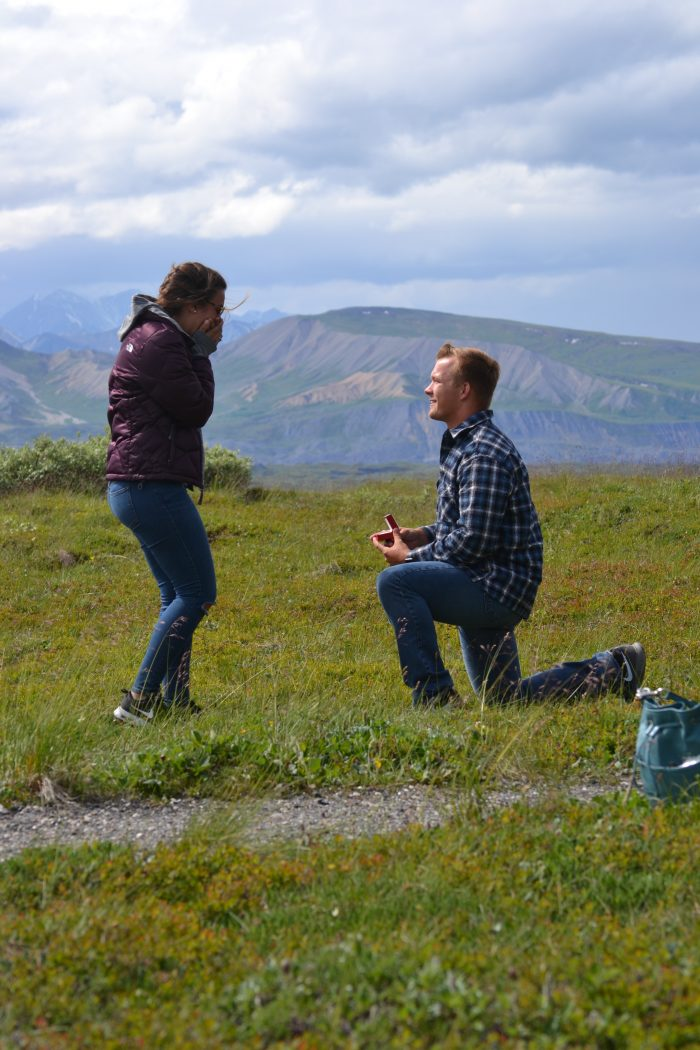 Marissa and Christian's Engagement in Denali, Alaska