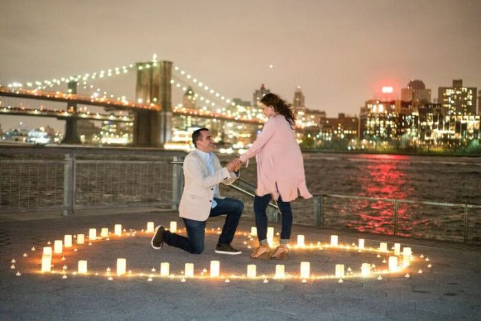 Isabel and Pablo's Engagement in Pier 15