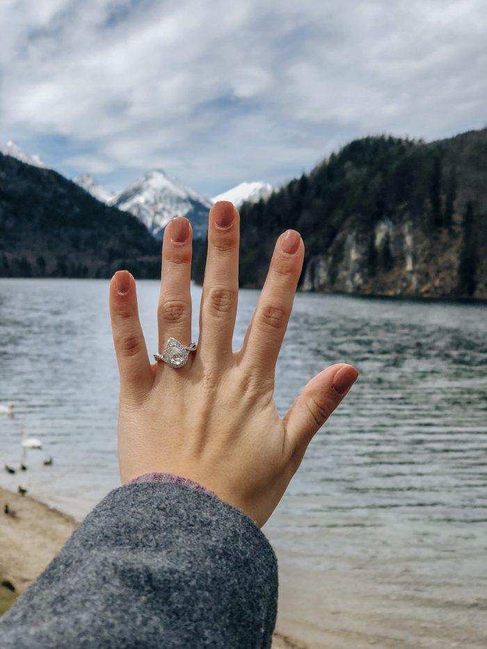 Wedding Proposal Ideas in Germany in front of the Neuschwanstein Castle