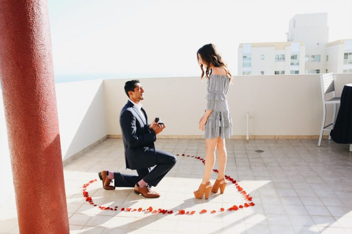 Marriage Proposal Ideas in JW Marriott Santa Monica Le Merigot