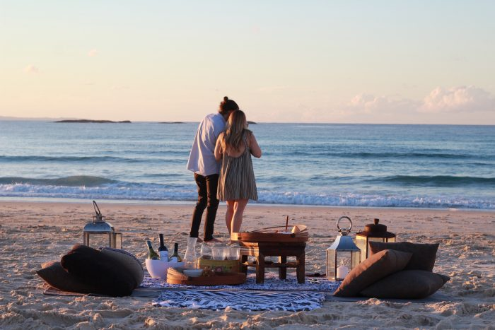 Marriage Proposal Ideas in Stradbroke Island, QLD, Australia