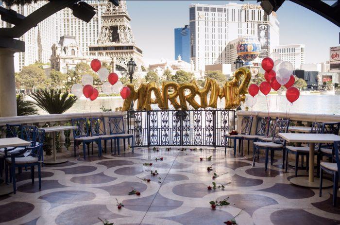 Nicol's Proposal in Prime - Bellagio, Las Vegas