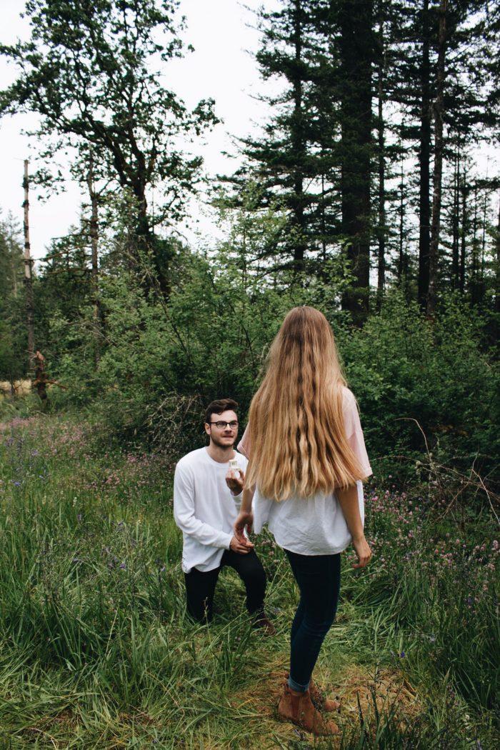 Brenda and Josef's Engagement in Camas Washington
