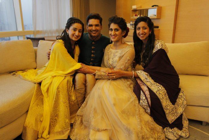 Image 1 of Vinita and Sachin